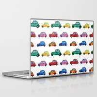 italian Laptop & iPad Skins featuring Italian cars  by Katerina Izotova Art Lab