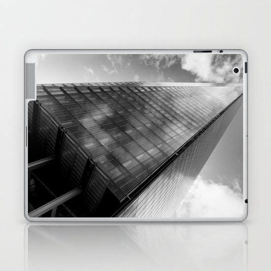 The Leaning Shard Of London  Laptop & iPad Skin