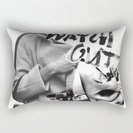 Watch Out Rectangular Pillow