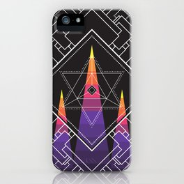 Merkabah iPhone Case