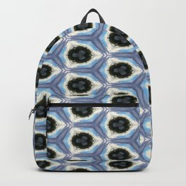 Blue Abstraction Backpack