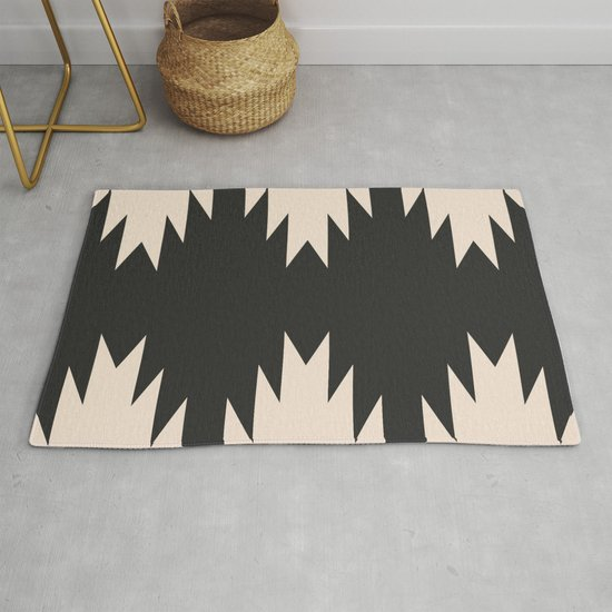 Minimal Southwestern - Charcoal by midcenturymodern