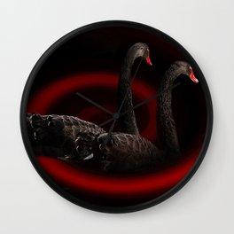 birds solidarity Wall Clock