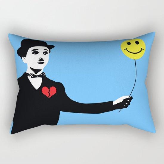 Silent Prodigy - Charlie Chaplin Rectangular Pillow