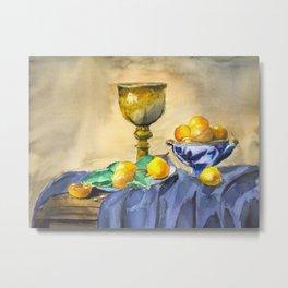 Still Life - Original Watercolor Painting KargacinArt Metal Print