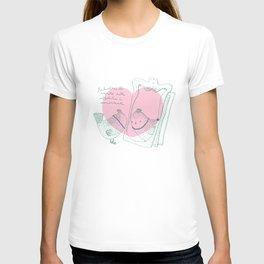 Lark mirror. T-shirt