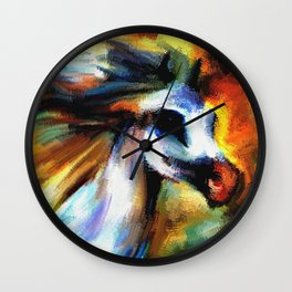 Once upon a Horse Wall Clock