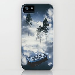Forest sailing iPhone Case