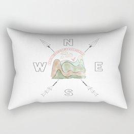 Darling Let's Be Adventurers Rectangular Pillow