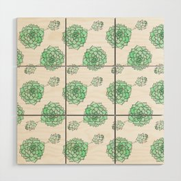 PATTERN II Succulent Life Wood Wall Art