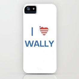 I Heart Wally iPhone Case