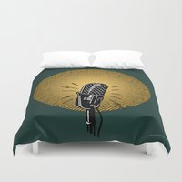 One, two, three... Duvet Cover