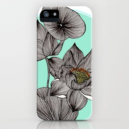 Lotus in my Pond iPhone Case