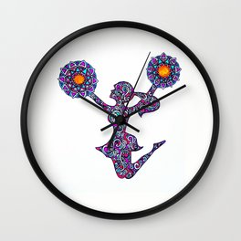 cheer power Wall Clock