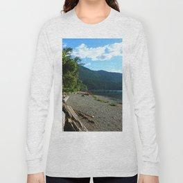 Lake Cresent Shore Long Sleeve T-shirt