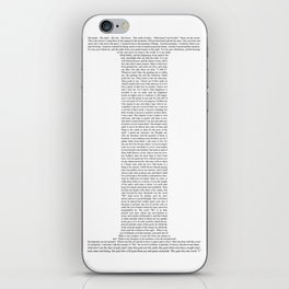 "Quote from Ayn Rand's ""Anthem"" iPhone Skin"
