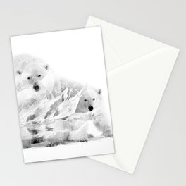 Polar Bears and Arctic Stationery Cards