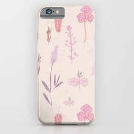 Aromatherapy Lilac iPhone Case