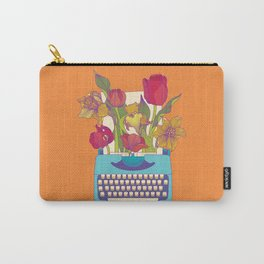 Flowering words Carry-All Pouch