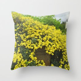 Sorrento Heights (Floral) Throw Pillow
