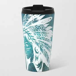 Moon Child Goddess Bohemian Girl Travel Mug