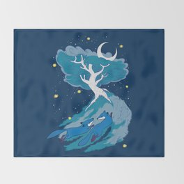 Fleet Foxes Throw Blanket