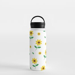 Tiny Sunflowers Water Bottle
