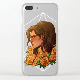 Nico | Orange Rose | DMC5 Clear iPhone Case