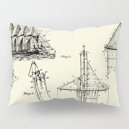 Ship's Rigging-1927 Pillow Sham