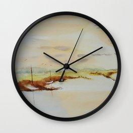 Sky & Boats Wall Clock