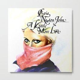 Olivia Newton-John - A Little More Love Metal Print