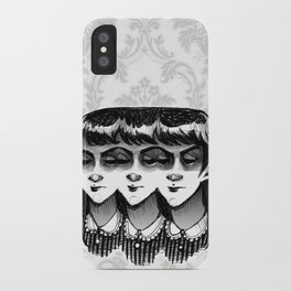 Triplets iPhone Case