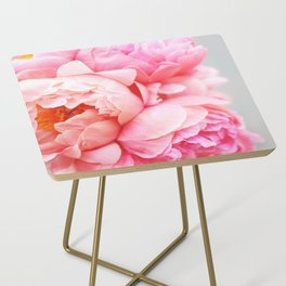 Peonies Forever Side Table