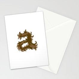 Animal A Stationery Cards