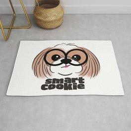Shih Tzu Smart Cookie Rug