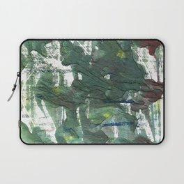 Feldgrau abstract watercolor Laptop Sleeve