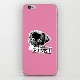 ON WEDNESDAYS...WE WEAR PINK 1 iPhone Skin
