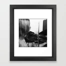 The Violinist  Framed Art Print