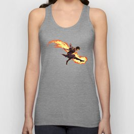 Fight Fire With Fire Unisex Tank Top