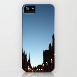The Blur of Edinburgh. iPhone Case