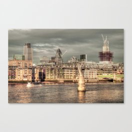 The Millennium Bridge  Canvas Print