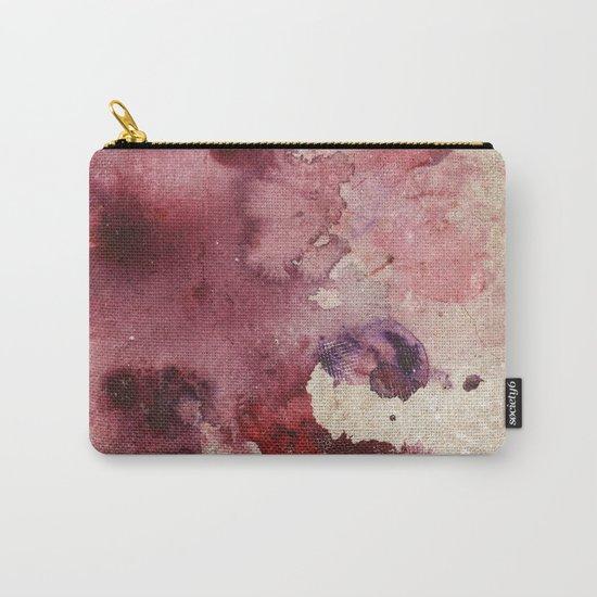 Garnet Color Splash Carry-All Pouch