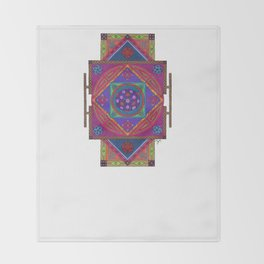 Just Another Roll of the Dice Throw Blanket