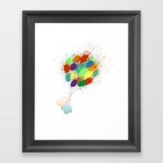 Burst! Framed Art Print