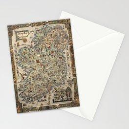 Map of Ireland Stationery Cards