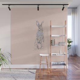 Blossom Bunny Wall Mural