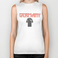 germany Biker Tanks featuring Go Germany! by Bunhugger Design