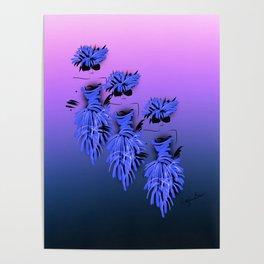 Ladies in blue Poster