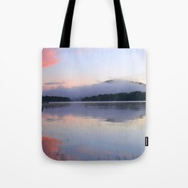 Tranquil Morning in the Adirondacks Tote Bag