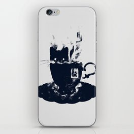 Having Tea With my Lovely Cat iPhone Skin